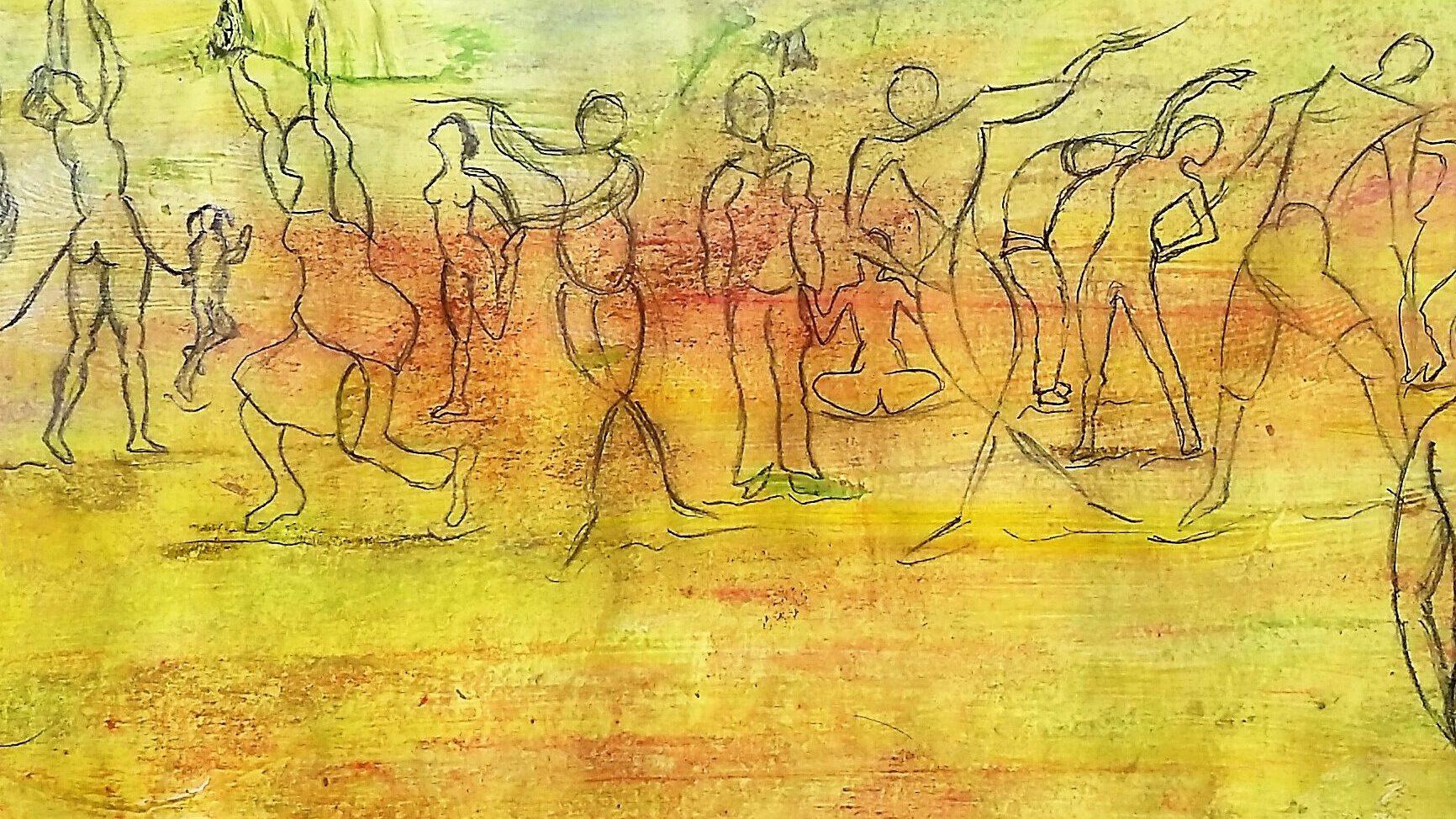 Körper Bewegung Tanz Kunst Therapie Susanna Tuppinger St. Gallen Ostschweiz Tanztherapie Bewegungstherapie Kunsttherapie